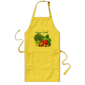VEGAN CHEF Long Apron