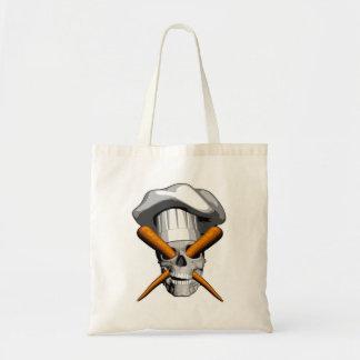 Vegan Chef Skull Bags