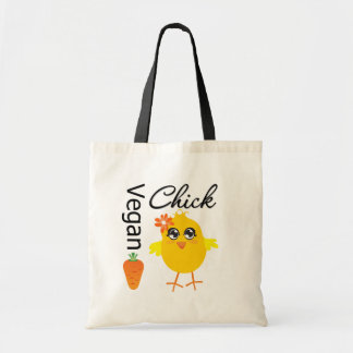 Vegan Chick 2 Tote Bags