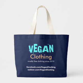 VEGAN Clothing Promo Bag Black