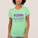 VEGAN Clothing Signature T Shirts