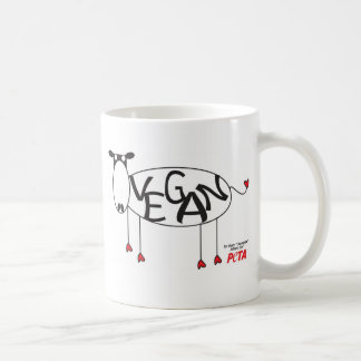 Vegan Cow Mug