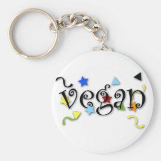 Vegan Curls Key Ring