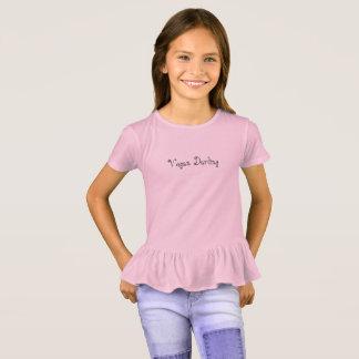Vegan Darling Ruffle T-shirt