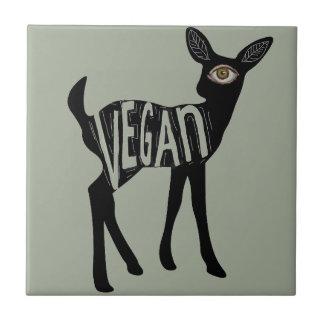 Vegan Deer tile