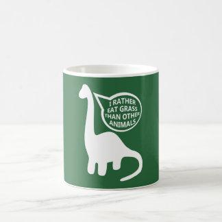Vegan Dinosaur Coffee Mug