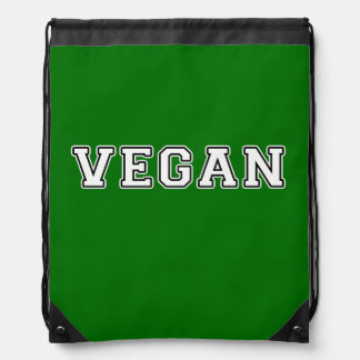 Vegan Drawstring Bag