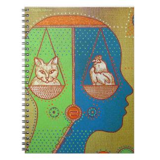 Vegan equality notebooks