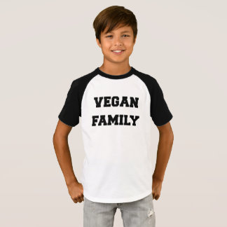 vegan FAMILY T SHIRT for boys