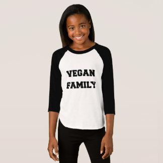 vegan FAMILY T SHIRT for girls