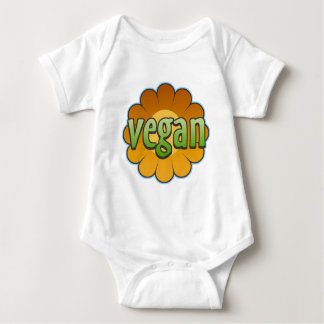 Vegan Flower Infant Creeper