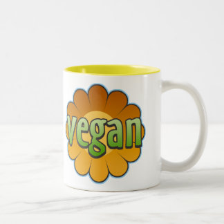 Vegan Flower Mug