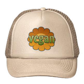 Vegan Flower Trucker Hat