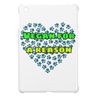 Vegan for a reason iPad mini cases