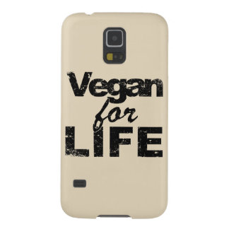 Vegan for LIFE (blk) Galaxy S5 Cover
