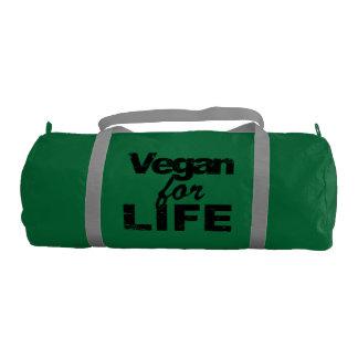 Vegan for LIFE (blk) Gym Bag