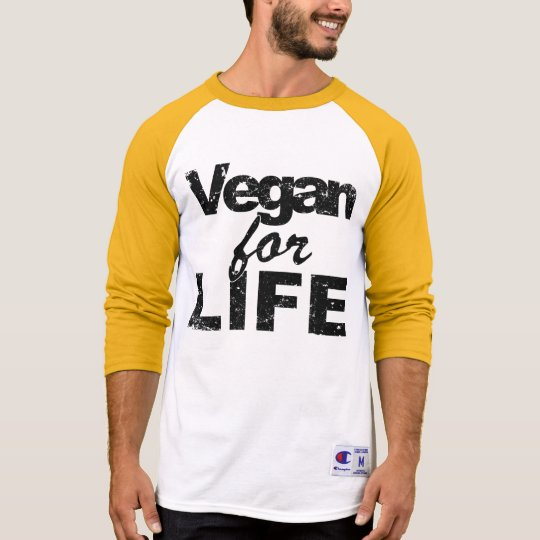 Vegan for LIFE (blk) T-Shirt