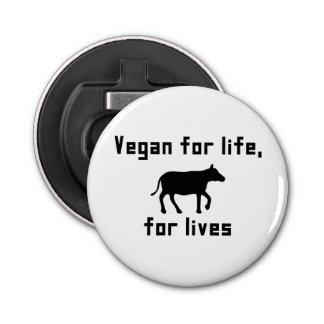 Vegan for life bottle opener