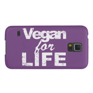 Vegan for LIFE (wht) Cases For Galaxy S5