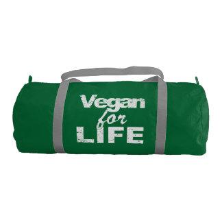 Vegan for LIFE (wht) Gym Bag
