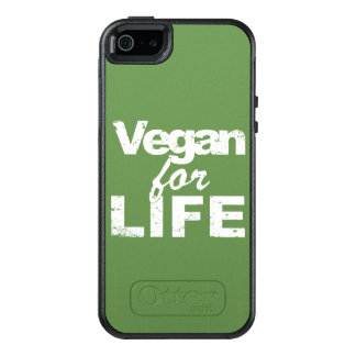 Vegan for LIFE (wht) OtterBox iPhone 5/5s/SE Case