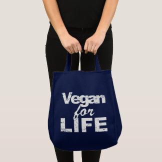 Vegan for LIFE (wht) Tote Bag