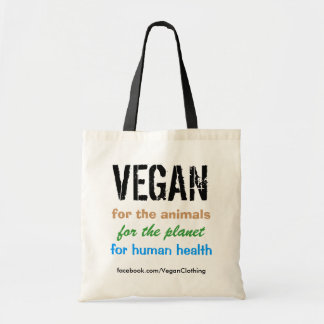 VEGAN, for the animals ... Bag