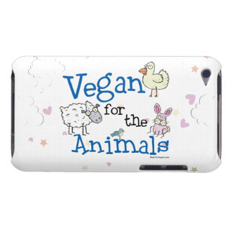 Vegan for the Animals iPod Case-Mate Cases