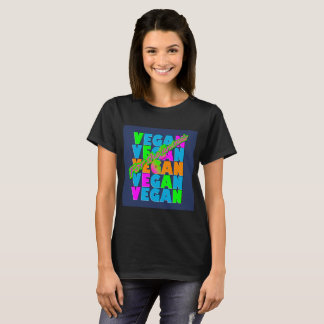 Vegan For The Animals T-Shirt. T-Shirt