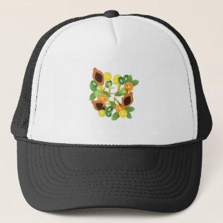 Vegan fruit trucker hat