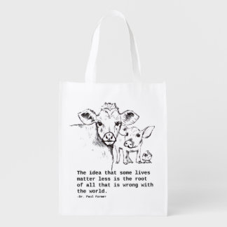 VEGAN GROCERY BAG