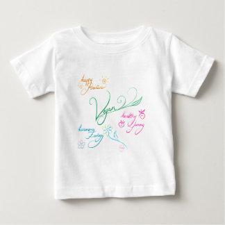 Vegan & happy lifestyle baby T-Shirt