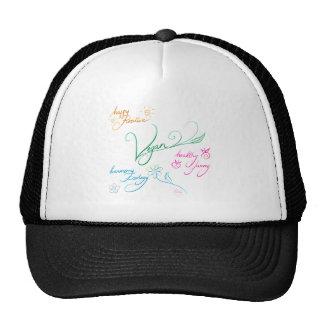 Vegan & happy lifestyle cap