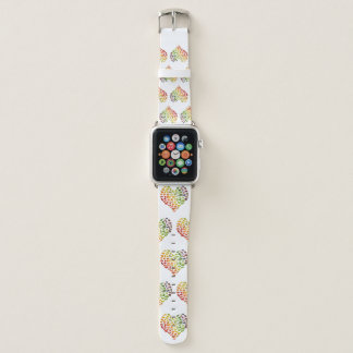 Vegan Heart Apple Watch Band