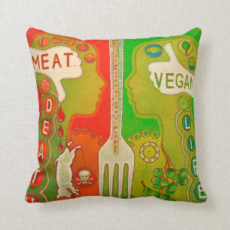 Vegan is life cushion