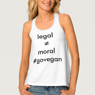 vegan is moral singlet