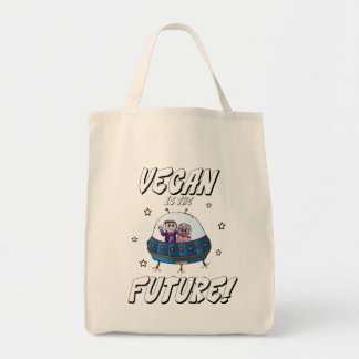 Vegan is the Future Grocery Bag