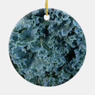 Vegan Kale Christmas Ornament