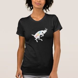 Vegan leaping goat T-Shirt