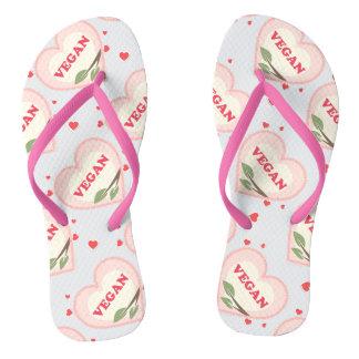 Vegan Love Flip Flops Thongs