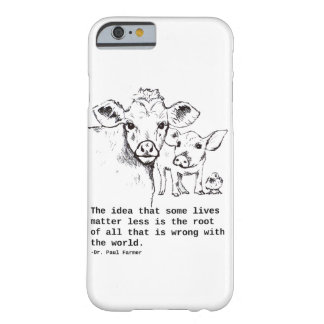 Vegan Message IPhone Barely There iPhone 6 Case
