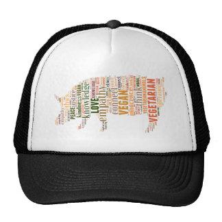 Vegan mosaic cap