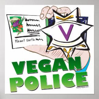 Vegan Police Poster