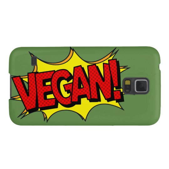 VEGAN POP ART CASE FOR GALAXY S5