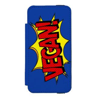 VEGAN POP ART INCIPIO WATSON™ iPhone 5 WALLET CASE