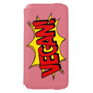 VEGAN POP ART INCIPIO WATSON™ iPhone 6 WALLET CASE