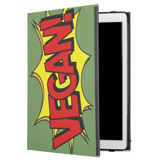 "VEGAN POP ART iPad PRO 12.9"" CASE"