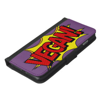 VEGAN POP ART iPhone 6/6S PLUS WALLET CASE