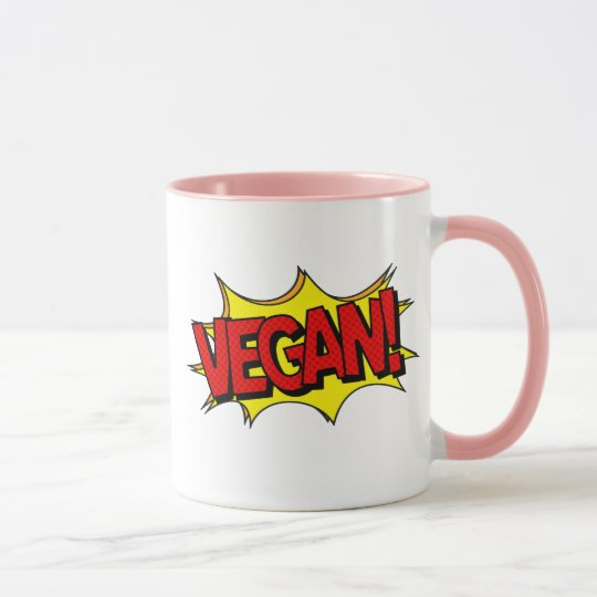 VEGAN POP ART MUG