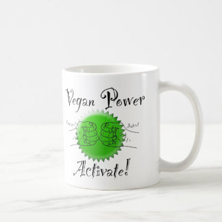 Vegan Power Activate Coffee Mug
